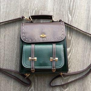 Brand New! Vegan Leather Bumblebee Backpack